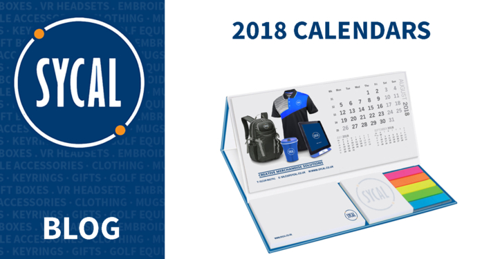 PROMOTIONAL 2018 CALENDARS