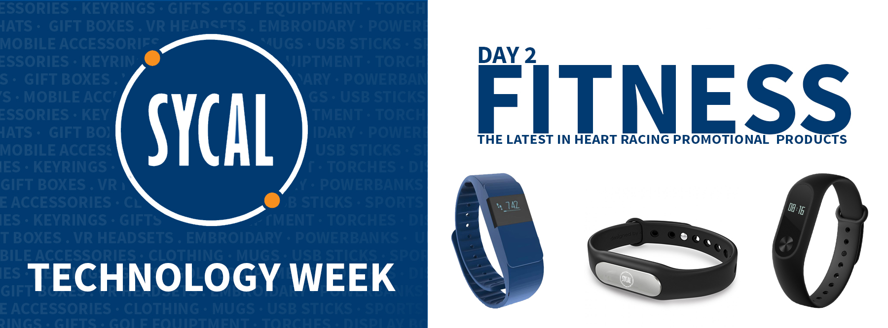 PROMOTIONAL FITNESS TRACKER