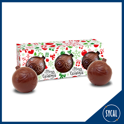 Promotional Chocolate Baubles