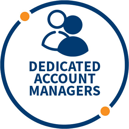 PROMOTIONAL MERCHANDISE DEDICATED ACCOUNT MANAGERS