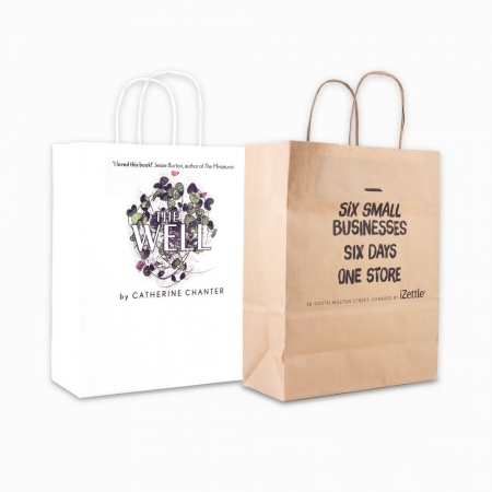 A4 Kraft Carrier Bag Full Colour