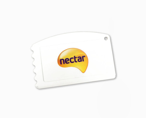 Recycled Credit Card Ice Scraper
