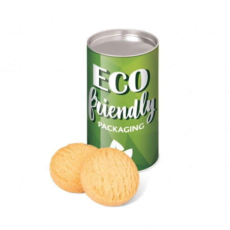 Eco Range Small snack tube - Mini Shortbread Biscuits