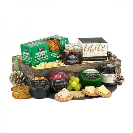 Cheese and Cracker Tray hamper