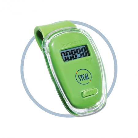 Clip-on promotional pedometer