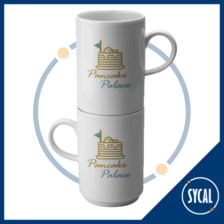 Stackable promotional mug blog