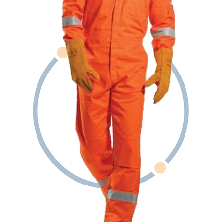 Flame Resistant hi-vis Coverall