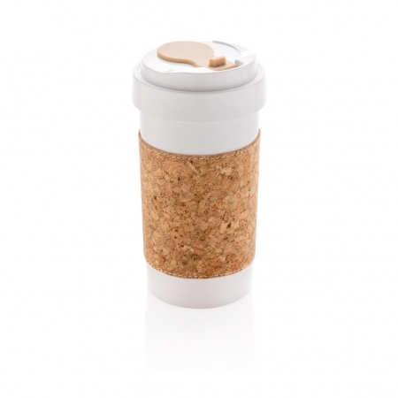 ECO PLA can with cork sleeve
