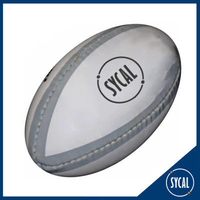 Lightweight promotional rugby ball