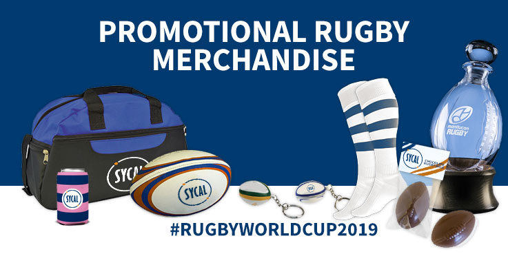 promotional rugby merchandise