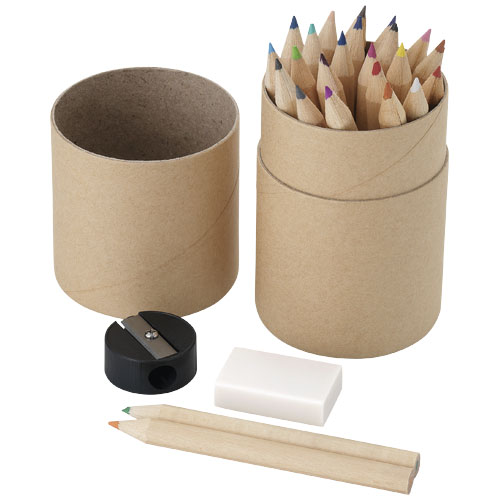 Woodby 26 piece coloured pencil set