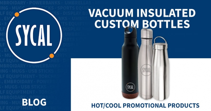 Promotional vacuum insulated bottles