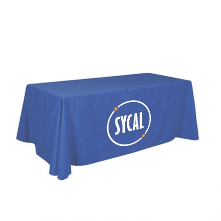 Custom Polyester Tablecloth with Full Colour Print