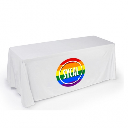 customised Polyester Tablecloth with Sublimation Print