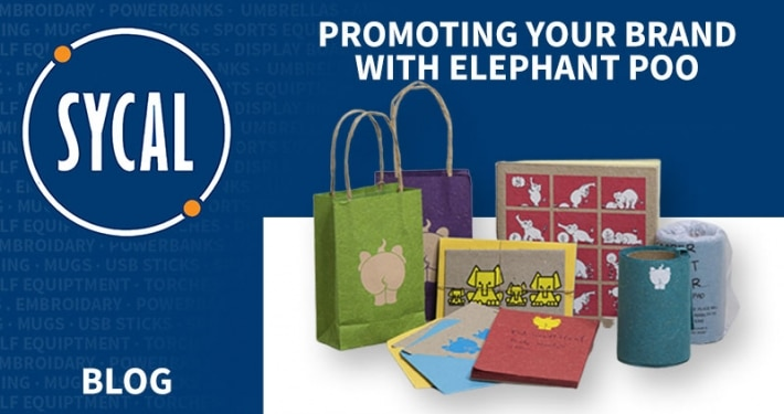 promotional elephant poo gifts
