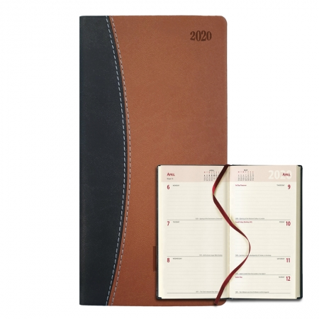 pocket leather 2020 diary