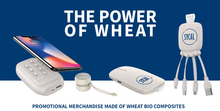 promotional products made of wheat