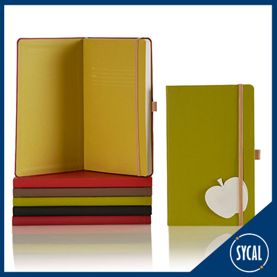 notebook made from apples