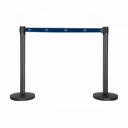 Custom promotional queue barriers