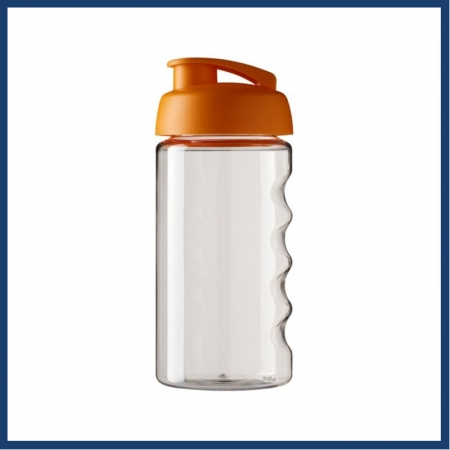 Recycled plastic promotional bottle