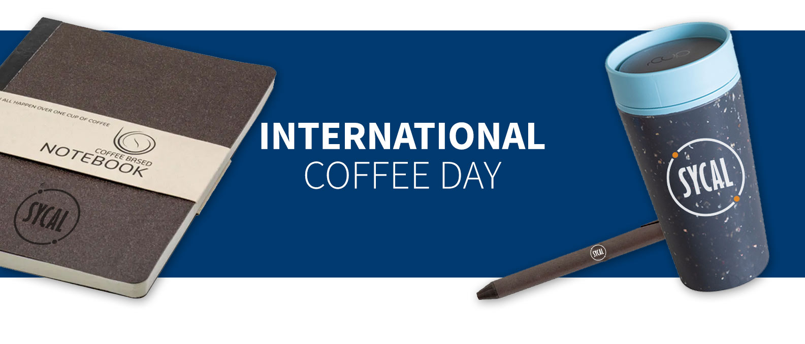 INTERNATIONAL COFFEE DAY PROMOTIONAL BRANDED MERCHANDISE