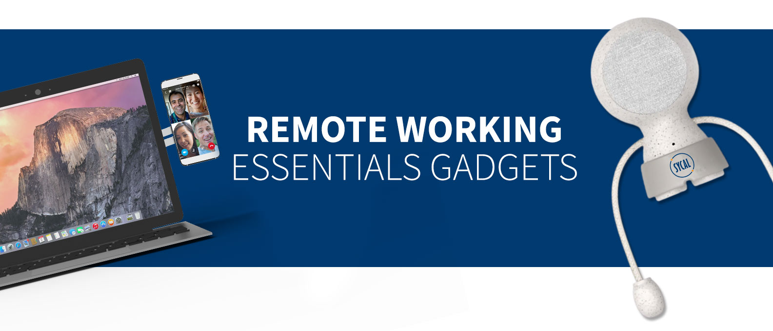 branded merchandise for working from home