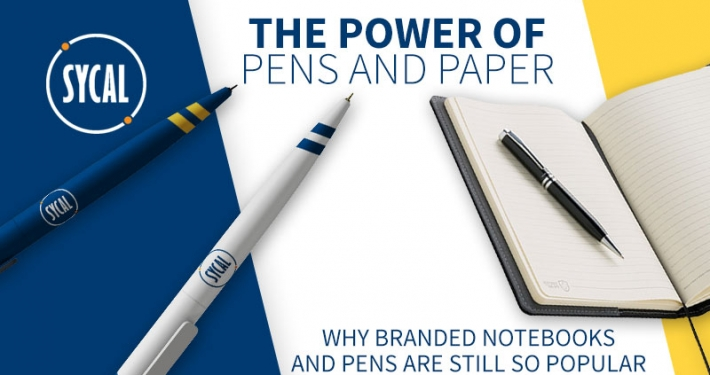 PROMOTIONAL BRANDED NOTEBOOK AND PENS