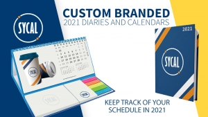 Branded Diaries and Calendars – Ready for 2021