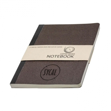 Coffee Grounds Notebook