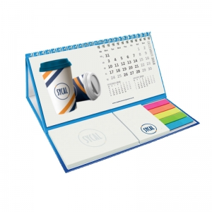 Custom branded merchandise calendar pods