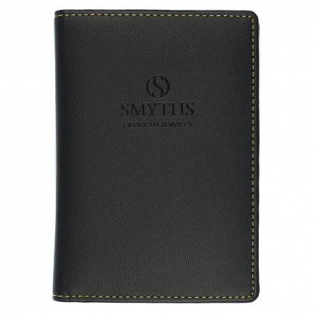 Earth Friendly Recycled Leather Passport Wallet