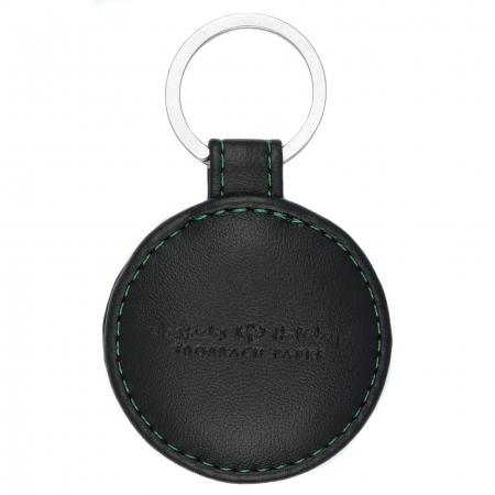 Earth Friendly Recycled Leather Keyring