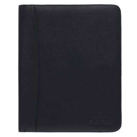 Earth Friendly Recycled Leather Conference Folder