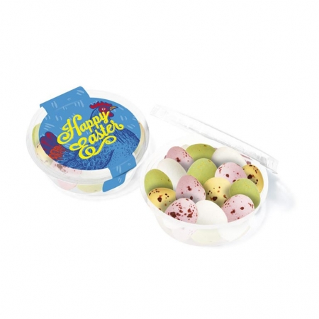 Branded Easter Eco Midi Pot Speckled Eggs