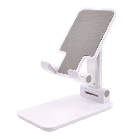 white Foldable Phone & Tablet Stand