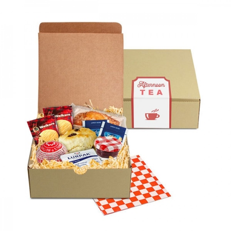 personalised afternoon tea gift box