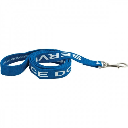 branded Long Polyester Dog Lead