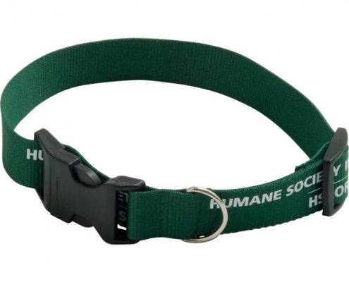 branded Polyester Dog Collar