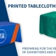 custom branded Promotional Printed Tablecloths for events