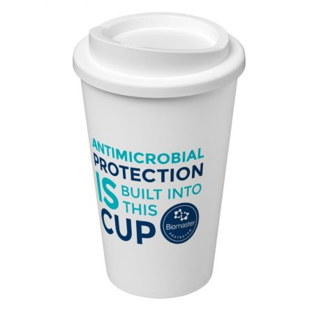 branded Americano Pure antimicrobial insulated tumbler
