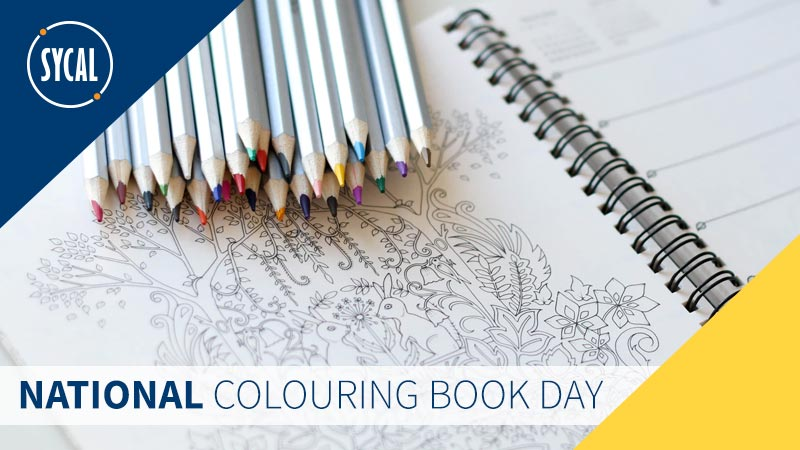 National Colouring Book Day