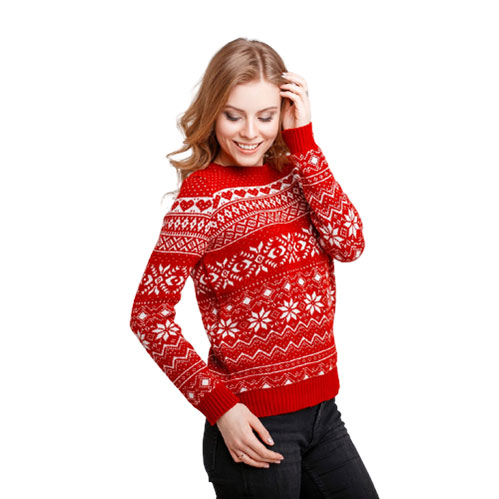 custom branded knitted christmas jumpers