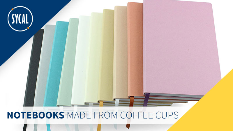 Recycled paper notebooks that make a difference